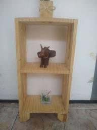 Título do anúncio: Que tal decora sua casa, seu cantinho com estes lindos móveis rústico feito de pino