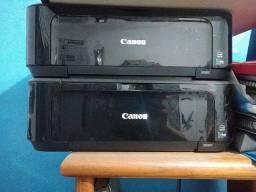 Título do anúncio: Vendo duas Impressoras Canon MG3610