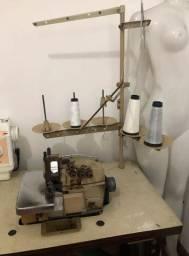 Máquina de costura 5 fios ( overlock industrial ) - R$500