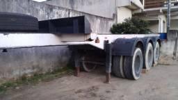 Título do anúncio: Carreta Porta container de 20 e de 40