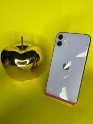 Título do anúncio: iPhone 11 64GB lilás ( vitrine )