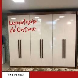Título do anúncio: Roupeiro Gratis Montagem #promoção outono