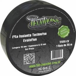 Fita Isolante Anti Chama Technoise 19mm X 20m  Pag.dinheiro R$5,00