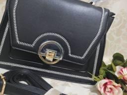 Título do anúncio: Bolsa de mão preto Lorenas Bolsas
