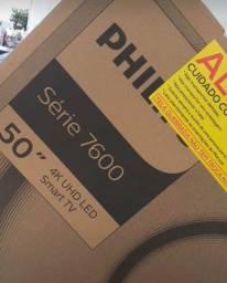 Título do anúncio: Tv 50 Philips 4K