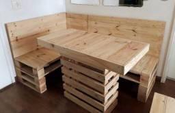 Pallet, móveis e decoração