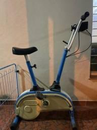 Título do anúncio: Bicicleta ergométrica Caloi retro