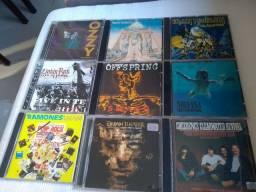 Título do anúncio: CDs rock internacional e nacional
