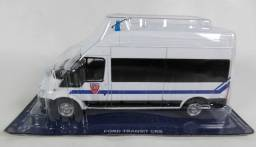 Título do anúncio: miniatura 1/43 Ford Transit 2010 Van CRS policia francesa viatura police Altaya