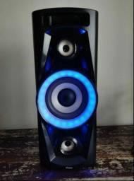 Título do anúncio: Caixa Amplificada  Philco,C/Bluetooth,2 USB,AUX,amfm,100wRms,TOP!!