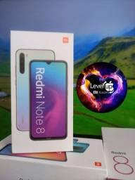 Promoção Level UP Xiaomi BH. Redmi Note 8 ..Novo Entrega imediata