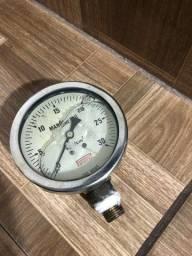 Título do anúncio: Manômetro analógico prostec  0 a 30 kg/cm2 3/4?