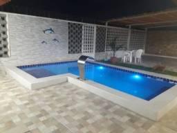 Título do anúncio: Casa Com Piscina Ponta de pedra 5 Quartos.