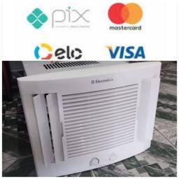 Título do anúncio: Ar Condicionado Seminovo Caixa Acj Janela 7.500 Btu 110V Economico Entrego Cartão 5x Pix