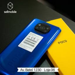 Xiaomi Poco X3 128GB - 1 ano de Garantia - Loja física - 12x Sem Juros