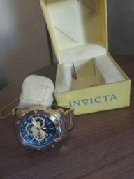 Relógio Invicta original Dourado