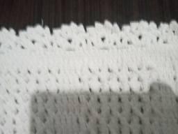 Tapete crochê linha barroco