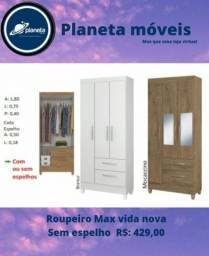 Título do anúncio: Guarda roupa Max Entrega Gratuita