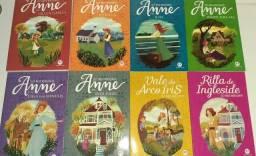 """Vendo 8 livros da coleção """"Anne de Green Gables"""""""