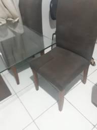 Mesa de 6 cadeiras barata e boa
