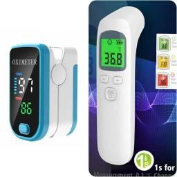 Oxímetro + termômetro