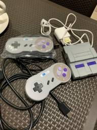 Mini Super Nintendo 10 Mil Jogos 2 Controles