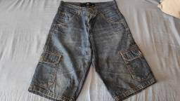 Título do anúncio: Bermuda jeans com bolso lateral