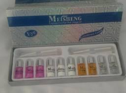 kit para permanente de cílios Meisheng novo na caixa com garantia!