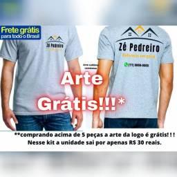 Título do anúncio: Camiseta empresa e autônomos apenas 30 reais