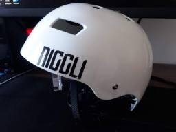 Capacete Patins Skate Niggli Iron Light Profissional