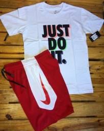Camisa e Bermuda Nike
