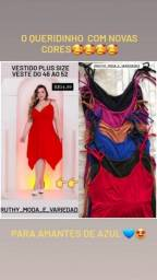 Título do anúncio: Vestido Plus size de ponta