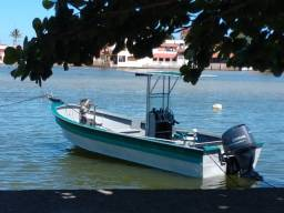 Barco Lancha de Alumínio 22 pés Almar Saquarema