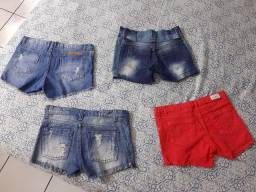 4 shorts jeans