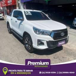 Toyota Hilux Srx 4X4 Cd Diesel Ano 2019 Branca Automática