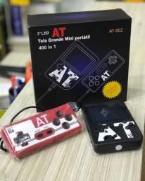 Super Mini Game retro 400 Jogos  Com Controle e Brinde