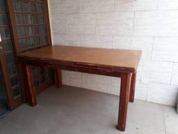 Título do anúncio: Mesa madeira  rustica