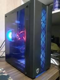 Título do anúncio: Pc Gamer RGB Processador Xeon/ i7 up 3.7ghz, 8gb RAM, Gtx 750ti 2gb, HD 1tb, fonte 550w