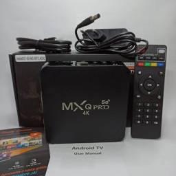 TV BOX - TRANSFORME SUA TV EM SMART