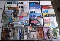 Título do anúncio: Revistas Casa Claudia, Au e Arquitetura e Construção