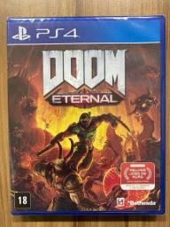 Doom Eternal Ps4 Midia Física Português Novo Lacrado