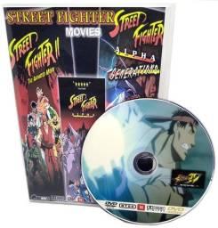 Box Dvd Filme Street Fighter 4 Movies + Ova