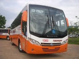 Ônibus de turismo completo