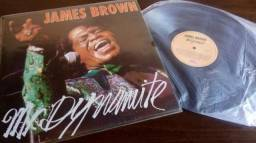 LPs (5) Vinil Blues/Soul -Aretha Franklin B.B. King James Brown Albert Collins Tina