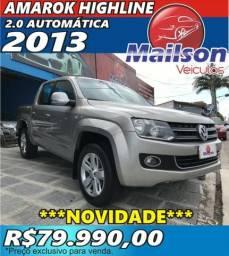 Amarok 2013 CD 2.0 Automática Highline. Extra - 2013
