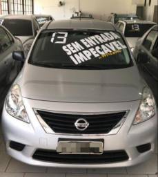 Nissan versa 1.6 novo impecável - 2013