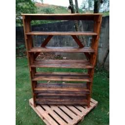Estante de madeira - Pallet
