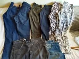 Lote calças tamanho 40 e 42