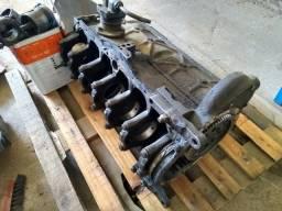 Bloco motor 352, comando, pistões, bielas, radiador de óleo