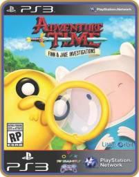 Título do anúncio: Ps3 Adventure time tempo de aventura as investigações de Finn e Jake